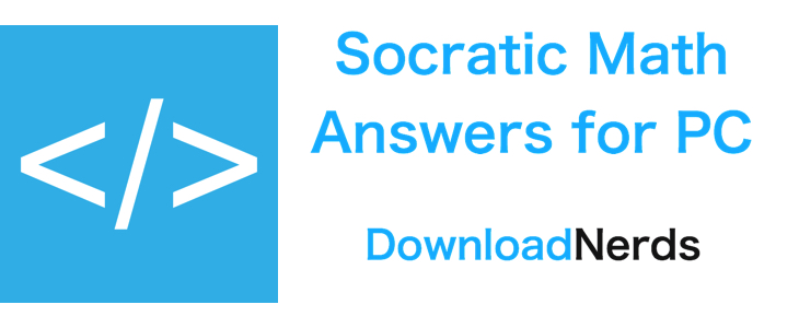 Socratic Math Answers for PC